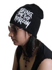 Bring Me The Horizon  Rock Band Embroidered Logo Black Beanie Cap Hat