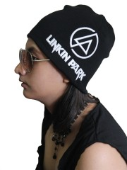 Linkin Park  Rock Band Embroidered Logo Black Beanie Cap Hat