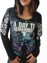A Day To Remember Heavy Metal  DIY Light-Weight Hoodie Jacket Top Shirt