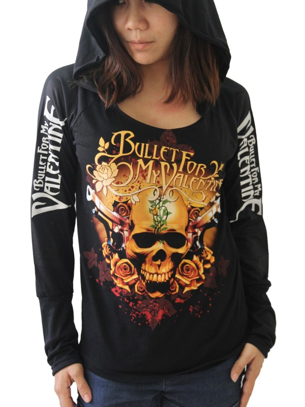 bullet for my valentine heavy metal diy light weight hoodie jacket top shirt