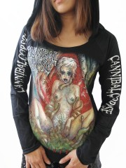 Cannibal Corpse Heavy Metal  DIY Light-Weight Hoodie Jacket Top Shirt