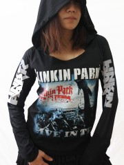 Linkin Park Heavy Metal  DIY Light-Weight Hoodie Jacket Top Shirt