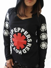 Red Hot Chili Peppers Heavy Metal  DIY Light-Weight Hoodie Jacket Top Shirt