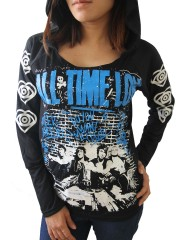 All Time Low Heavy Metal  DIY Light-Weight Hoodie Jacket Top Shirt