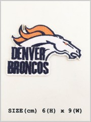 Denver Broncos NFL Sew Iron On Embroidered Patch