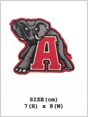 Alabama Crimson Tide NFL Sew Iron On Embroidered Patch