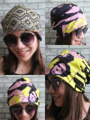 Sex Pistols Hipster Gypsy Reversible Beanie Cap Hat
