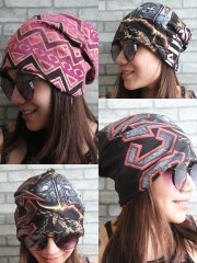 AC/DC Hipster Gypsy Reversible Beanie Cap Hat