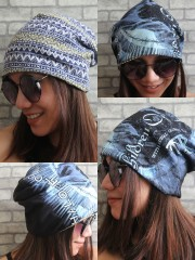 Children Of Bodom Hipster Gypsy Reversible Beanie Cap Hat