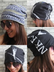Pink Floyd Hipster Gypsy Reversible Beanie Cap Hat