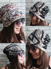 Linkin Park Hipster Gypsy Reversible Beanie Cap Hat
