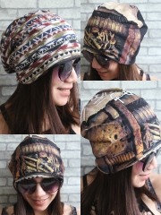 Lamb Of God Hipster Gypsy Reversible Beanie Cap Hat