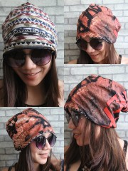 Slayer Hipster Gypsy Reversible Beanie Cap Hat