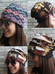 Panic At The Disco Hipster Gypsy Reversible Beanie Cap Hat