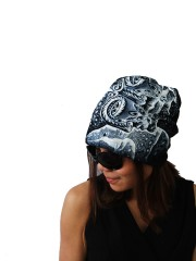 Tool Hipster Gypsy Reversible Beanie Cap Hat