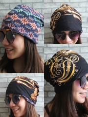 Opeth Hipster Gypsy Reversible Beanie Cap Hat