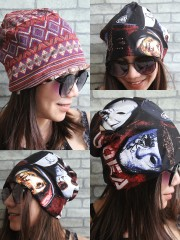 Hollywood Undead Hipster Gypsy Reversible Beanie Cap Hat