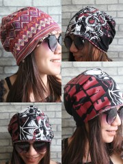 Avenged Sevenfold Hipster Gypsy Reversible Beanie Cap Hat