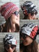 Ramones Hipster Gypsy Reversible Beanie Cap Hat