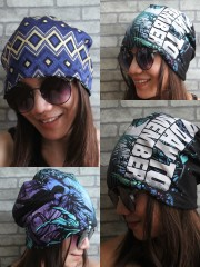 A Day To Remember Hipster Gypsy Reversible Beanie Cap Hat