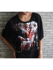 Cannibal Corpse Hipster Gypsy Fringe Poncho Scarf Bikini Cover