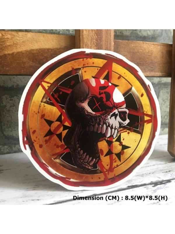 Five Finger Death Punch Logo Hipster Indy Graphic Art