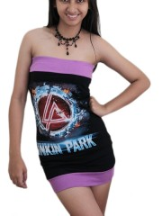 Linkin Park Heavy Metal Rock DIY Sexy  Tube Tank Tunic Top S/M