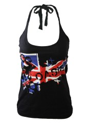 Oasis Hard Rock DIY Sexy Halter Tank Top Shirt