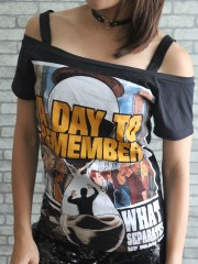 A Day To Remember Metal Punk Rock DIY Sexy Tee Tank Top Shirt