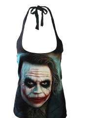 Joker BatMan Dark Knight DIY Sexy Halter Tank Top Shirt