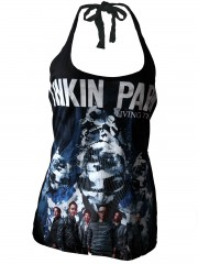Linkin Park Heavy Metal Rock DIY Sexy Halter Tank Top Shirt
