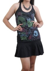 A Skylit Drive Rock DIY Halter Dress Top