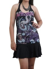Asking Alexandria Metal Rock DIY Halter Dress Top