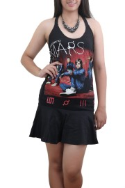 30 Seconds to Mars Progressive Metal Rock  DIY Halter Dress Top