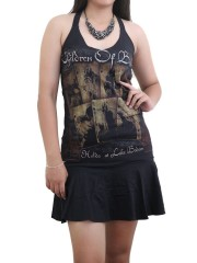 Children Of Bodom Black Metal Rock  DIY Halter Dress Top