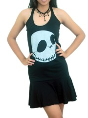 Nightmare Before Christmas  DIY Halter Dress Top