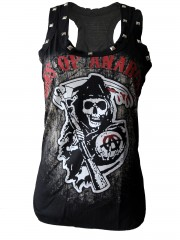 Sons Of Anarchy DIY Racerback Tank Top Shirt