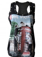 One Direction Pop Dance  DIY Racerback Tank Top Shirt