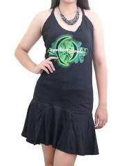 A Perfect Circle Heavy Metal Rock DIY Halter Dress Top