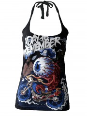 A Day To Remember Metal Punk Rock DIY Punk Sexy Halter Tank Top Shirt