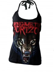 Bring Me The Horizon Metal Rock DIY Punk Sexy Halter Tank Top Shirt