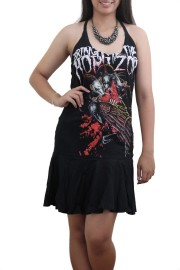Bring Me The Horizon Heavy Metal Rock DIY Halter Dress Top