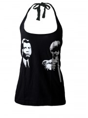 Pulp Fiction Movie  DIY Sexy Halter Tank Top Shirt