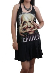 Eminem Hip Hop Heavy Metal Rock DIY Halter Dress Top