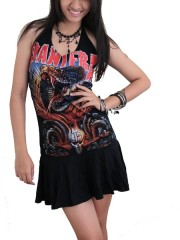 Pantera Heavy Metal Rock DIY Halter Dress Top
