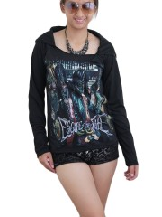 Escape The Fate Metal Rock  DIY Light-Weight Hoodie Jacket Top Shirt