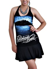 Parkway Drive Metal Rock DIY SEXY HALTER MINI DRESS