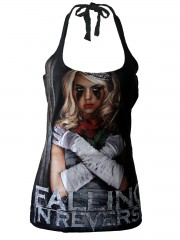 Falling in reverse  Metal Rock DIY Sexy Halter Tank Top Shirt