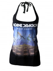 Imagine dragons Metal Rock DIY Sexy Halter Tank Top Shirt