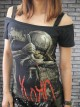 Korn Alternative Metal Rock DIY Sexy Tee Tank Top Shirt